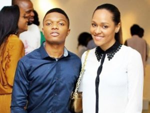 wizkid-and-girlfriend-tania omotayo