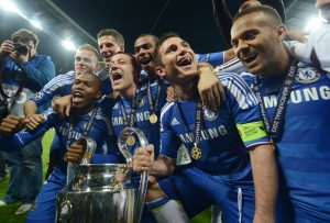 Chelsea 2012 Since The European Cup Was Revamped To UEFA Champions